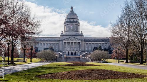 Obraz na plátne Kentucky State Capitol building. Frankfort, KY, USA.