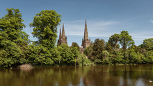 A View Of The Three Spires Of ...