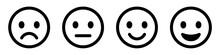 Emoticons Set. Emoji Faces Col...