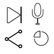 Clock Icon Set 1