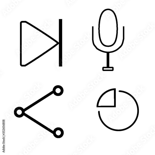 clock icon set 1 - 352656808