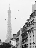 Buildings By Eiffel Tower Against Sky - 352657235