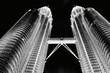 Leinwandbild Motiv Low Angle View Of Petronas Towers
