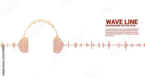 Photo Sound wave Music Equalizer background