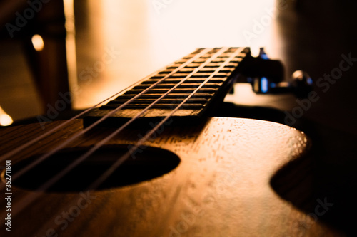 Photo ukulele