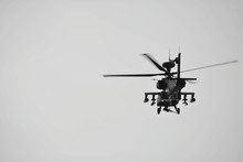 Helicopter Flying Against Sky