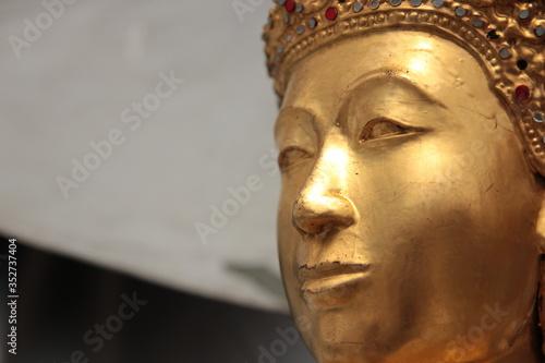 Photo Close-up Of Buddha Statue