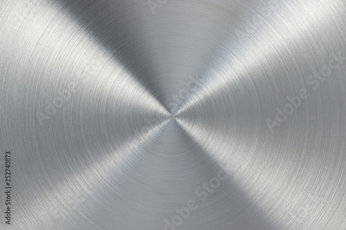 Stampa su Tela Metal stainless steel texture background