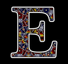 Initial Capital Letter E With ...