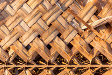 Detail Of An Asian House Roof ...