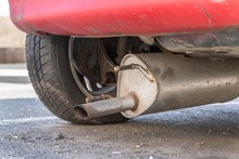 Car Exhaust (muffler) Fallen Off A Car