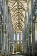 Interior De La Iglesia De Lancing College. Sussex. England