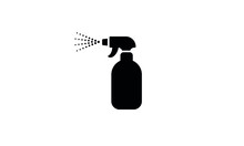 Spray Bottle Vector Icon,clean...