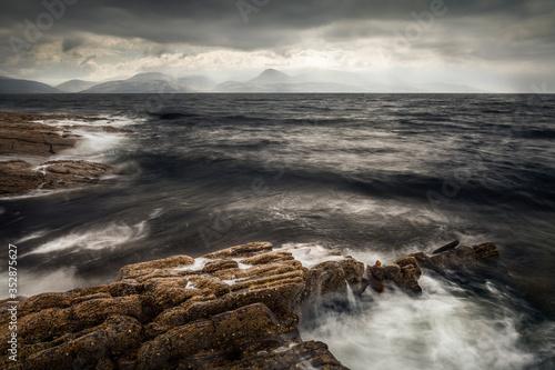 Kintyre Seascape 6 - Scottish Highlands Canvas Print