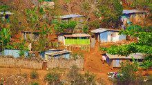 Residential Slums Housing On R...