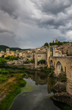 Bridge across El Fluvia River in Besalu