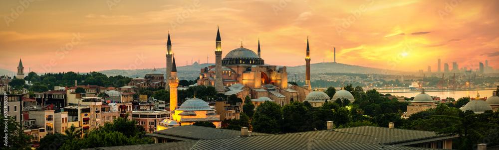 Fototapeta Hagia Sophia in Istanbul