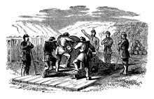 First Regiment, Vintage Illust...