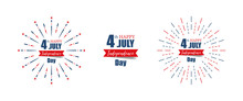 4th July Independence Day. Hap...