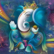 Ganesha Painting, UV Wall Art ...