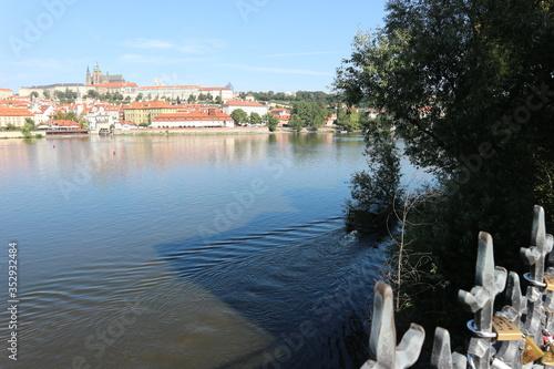 Obraz na plátně vista moldava praga