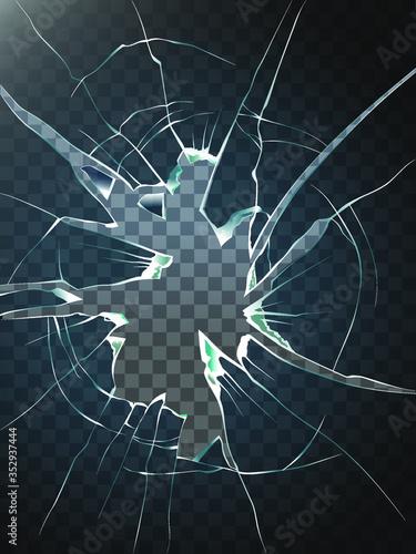 Tela Broken glass