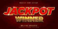 Jackpot Prize Style, Editable ...