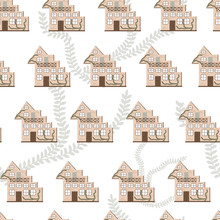 Seamless Pattern Of Brick Apar...