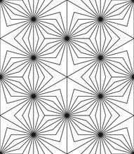Geo Seamless Pattern With Circ...