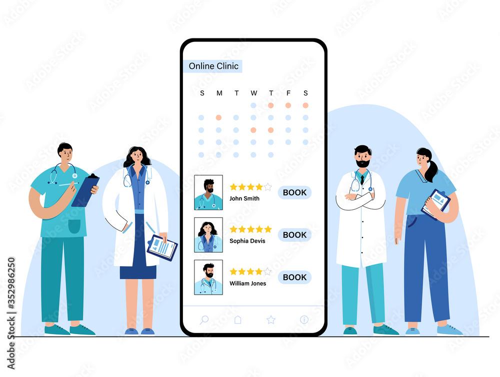 Fototapeta Online medicine concept