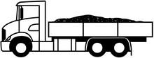 Flatbed Truck - 6x2 - American...