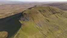 Aerial View Of Penyghent, One ...