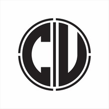 CU Logo Initial With Circle Li...
