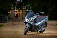 View Of Scooter Honda PCX Motorcycle 2014