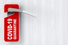 Red Do Not Disturb Door Label ...
