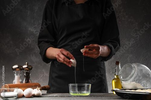 Photo Cooking dough