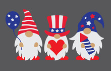 Vector Illustration Of Patriot...