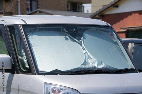 Fototapeta 車用サンシェード 軽自動車