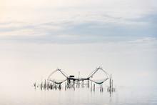 The Couple Big Dip Net, Fishin...