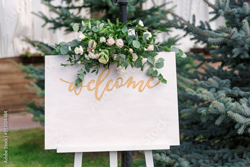 Fotografia Wedding Board Mockup