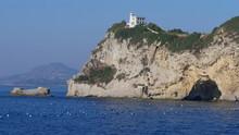 Leuchtturm Capo Miseno Im Golf...