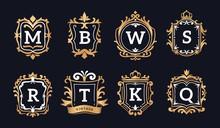Monogram Logos. Luxury Calligr...