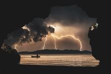 Beautiful Shot Of Lightning St...