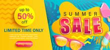 Hot Summer Sale Banner,shop No...