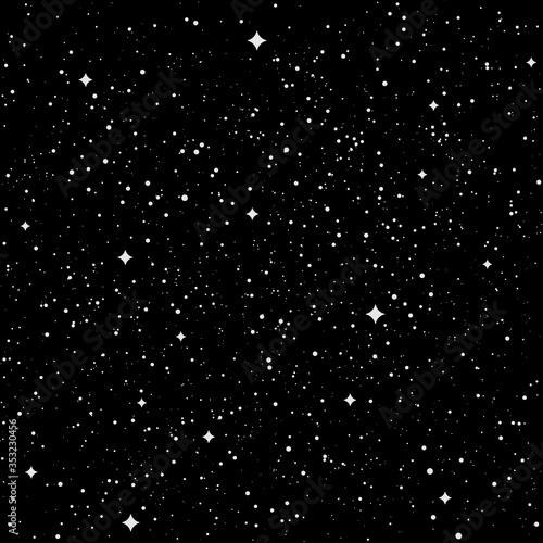 Space stars texture Wallpaper Mural