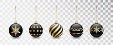 Black Christmas Tree Toy Set I...