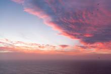 Sunset Hues At Farol Ponta Do ...