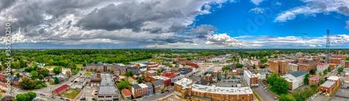 Fototapeta city of petersburg, virginia