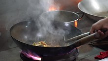 Malaysian Male Seller Cooks St...