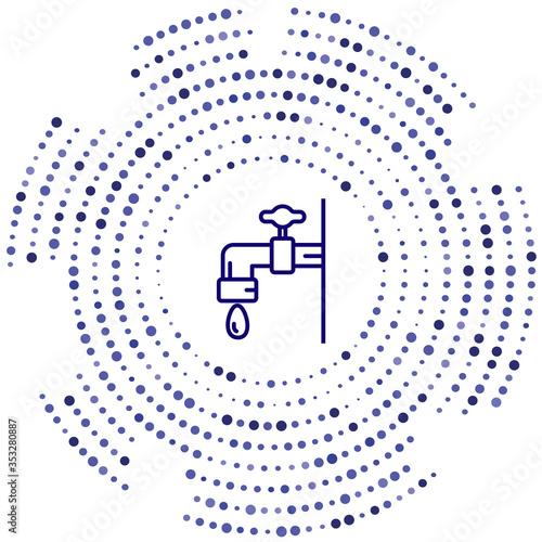 ablution vector icon Fototapeta